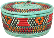 African Basket - Nubian - Canister - 9.5 Inches Across - #95292