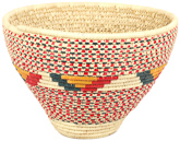 African Basket - Nubian - Open Top Tapered Cargo Canister - 16.75 Inches Across - #95306