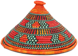 African Basket - Traditional Kuta and Tabaga Set - 12 Inches Across - #95370
