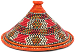 African Basket - Traditional Kuta and Tabaga Set - 12.25 Inches Across - #95371