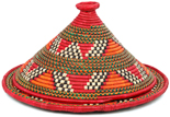 African Basket - Traditional Kuta and Tabaga Set - 13 Inches Across - #95372