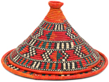 African Basket - Traditional Kuta and Tabaga Set - 13 Inches Across - #95373