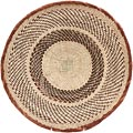 African Basket - Tonga - Zimbabwe Binga Basket - 15 Inches Across - #65279