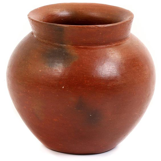 African Pottery - Small Botswana Pot - 4 Inches Across - #55275