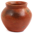 African Pottery - Medium Botswana Pot - 4.75 Inches Across - #55278