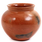 African Pottery - Medium Botswana Pot - 5.5 Inches Across - #55280