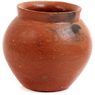 African Pottery - Medium Botswana Pot - 5 Inches Across - #55281