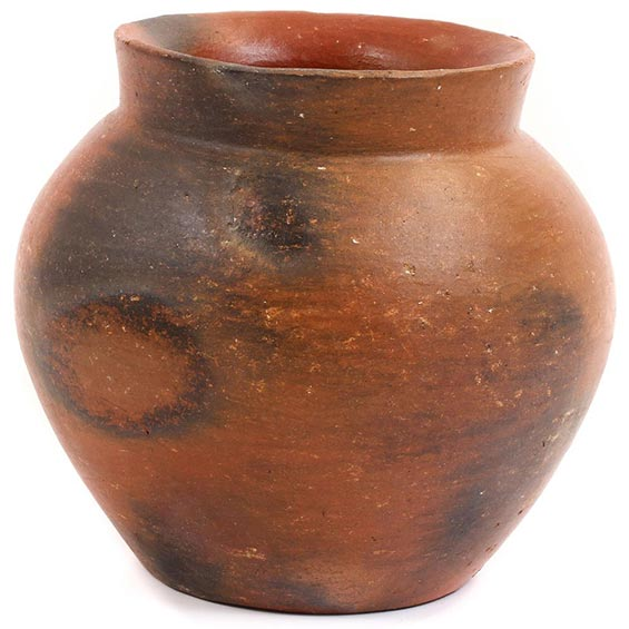 African Pottery - Medium Botswana Pot - 5 Inches Across - #55283