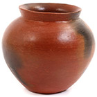 African Pottery - Medium Botswana Pot - 5 Inches Across - #55285