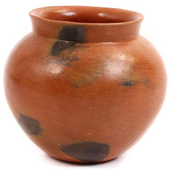 African Pottery - Medium Botswana Pot - 5.25 Inches Across - #55286