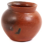 African Pottery - Medium Botswana Pot - 4.75 Inches Across - #55287
