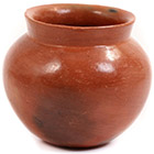 African Pottery - Medium Botswana Pot - 5.25 Inches Across - #55289