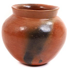 African Pottery - Medium Botswana Pot - 5.25 Inches Across - #55294