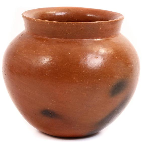 African Pottery - Medium Botswana Pot - 5.25 Inches Across - #55295