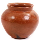 African Pottery - Medium Botswana Pot - 5.25 Inches Across - #55297
