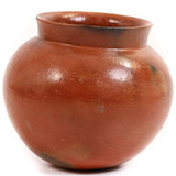 African Pottery - Large Botswana Pot - 7.25 Inches Across - #55299