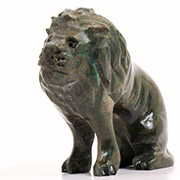 Shona Stone Sculpture -  2.5 Inches Tall - #CM001LMA