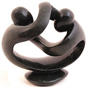 Shona Stone Sculpture -  8 Inches Wide - #ER001