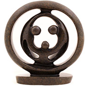 Shona Stone Sculpture -  5.75 Inches Wide - #SS025A