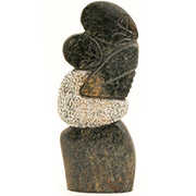 Shona Stone Sculpture - 12 Inches Tall - #SS046