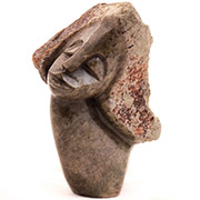Shona Stone Sculpture -  8 Inches Tall - #ZG624