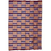 Handmade African Textile - Kente Cloth - 42 Inches Wide x 62 Inches Tall - #7687