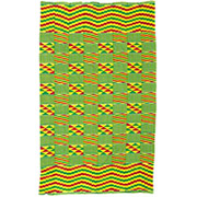 Handmade African Textile - Kente Cloth - 39 Inches Wide x 64 Inches Tall - #7694