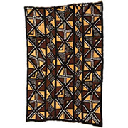 Handmade African Textile - Mud Cloth - 48 Inches Wide x 72 Inches Tall - #7785