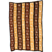 Handmade African Textile - Mud Cloth - 48 Inches Wide x 72 Inches Tall - #7798