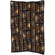 Handmade African Textile - Mud Cloth - 48 Inches Wide x 72 Inches Tall - #7823