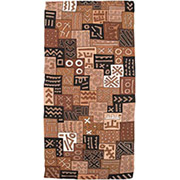 Handmade African Textile - Mud Cloth - 56 Inches Wide x 130 Inches Tall - #8172