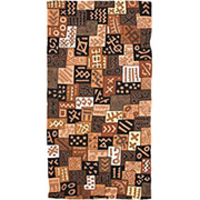 Handmade African Textile - Mud Cloth - 58 Inches Wide x 120 Inches Tall - #8174