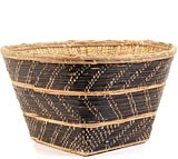 African Basket - Mossi Harvest Basket - 19 Inches Across - #53121