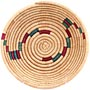 African Basket - Small Tuareg Tray - 7.5 Inches Across - #68269