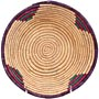 African Basket - Small Tuareg Tray - 8 Inches Across - #68270
