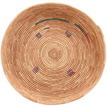 African Basket - Tuareg Winnowing Tray - 14 Inches Across - #72759