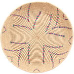 African Basket - Tuareg Winnowing Tray - 14.5 Inches Across - #72761