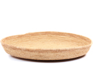 African Basket - All Natural Tuareg Winnowing Tray - 14.5 Inches Across - #72777