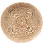 African Basket - Tuareg Winnowing Tray - 15.5 Inches Across - #78297