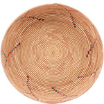 African Basket - Tuareg Winnowing Tray - 14 Inches Across - #78298