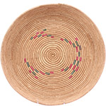 African Basket - Tuareg Winnowing Tray - 15 Inches Across - #78300