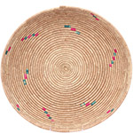 African Basket - Tuareg Winnowing Tray - 15 Inches Across - #78303