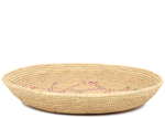 African Basket - Tuareg Winnowing Tray - 14.5 Inches Across - #95491