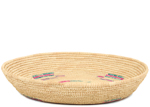 African Basket - Tuareg Winnowing Tray - 14.5 Inches Across - #95492