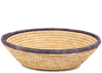 African Basket - Small Tuareg Tray -  9 Inches Across - #95495