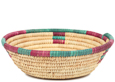 African Basket - Small Tuareg Tray -  9 Inches Across - #95496