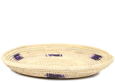 African Basket - Small Tuareg Tray -  9.5 Inches Across - #95497