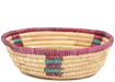 African Basket - Small Tuareg Tray -  7.25 Inches Across - #95498