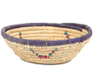 African Basket - Small Tuareg Tray -  7 Inches Across - #95499