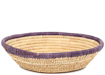 African Basket - Small Tuareg Tray -  7.75 Inches Across - #95505